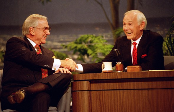 Image result for johnny carson hosts the last tonight show