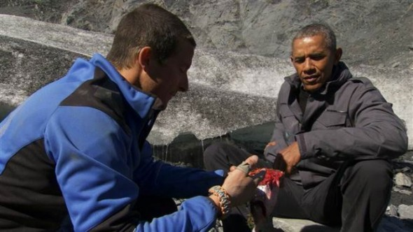 Running Wild with Bear Grylls: Obama episode