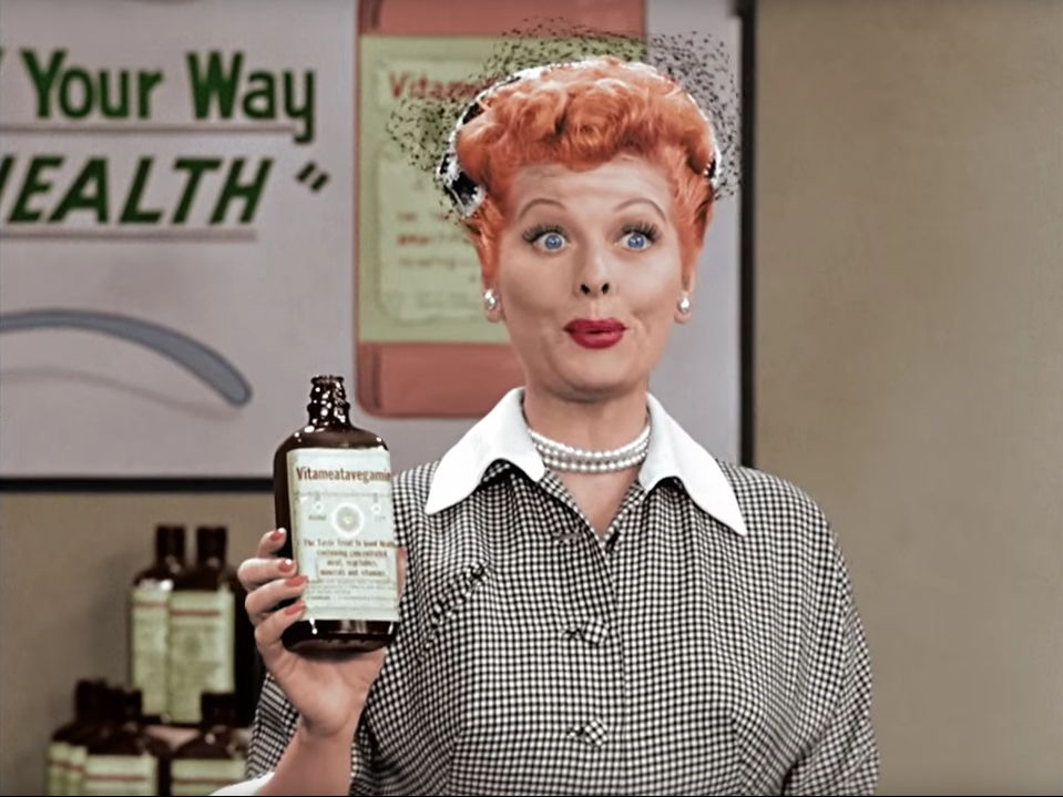 The andy griffith show i love lucy new colorized for I love lucy coloring pages