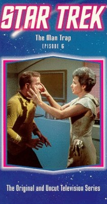 "Star Trek TV series on NBC, first broadcast episode, ""The Man Trap,"" by William Clayton Johnson"