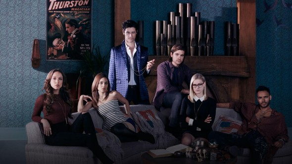 The Magicians TV show on Syfy: season one (canceled or renewed?)