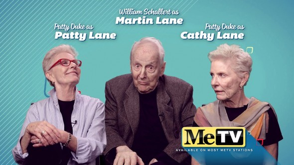 The Patty Duke Show TV show on MeTV in syndication