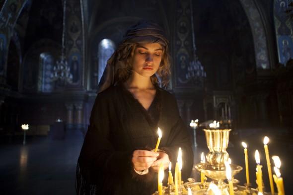 Picture shows: Natasha Rostov (LILY JAMES)