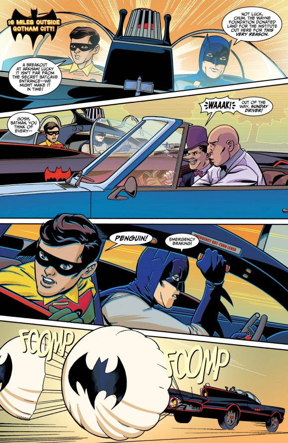 Batman 66 Meets Man from UNCLE
