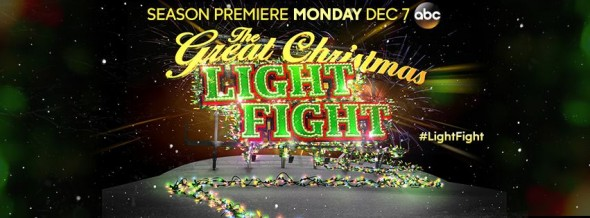 The Great Christmas Light Fight TV show on ABC: ratings (cancel or renew?)
