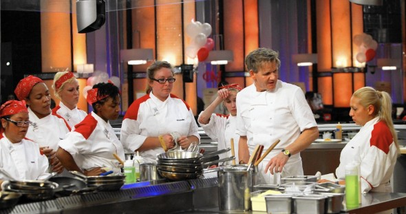 Hell's Kitchen TV show on FOX (season 15)