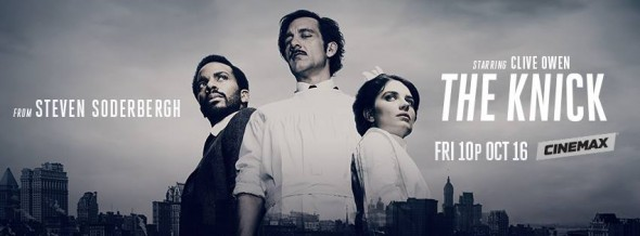 The Knick TV show on Cinemax: ratings (cancel or renew?)