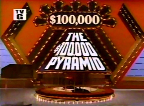 $100,000 Pyramid game show on ABC