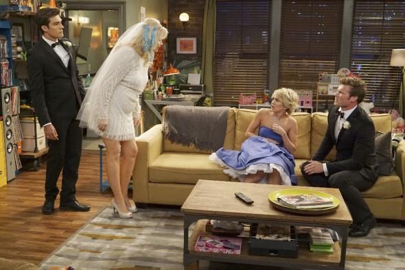 (ABC Family/Eric McCandless) PETER PORTE, MELISSA PETERMAN, CHELSEA KANE, DEREK THELER