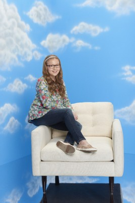 "THE REAL O'NEALS - ABC's ""The Real O'Neals"" stars Bebe Wood as Shannon. (ABC/Bob D'Amico)"