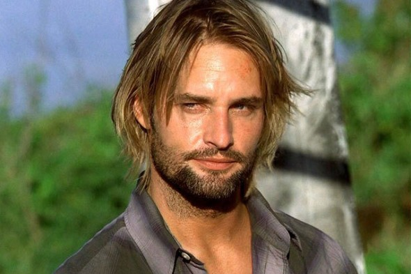 Josh Holloway on Lost