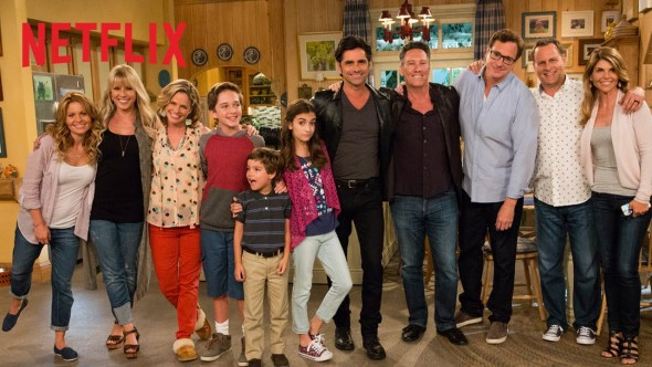 Fuller House TV show on Netflix: season one