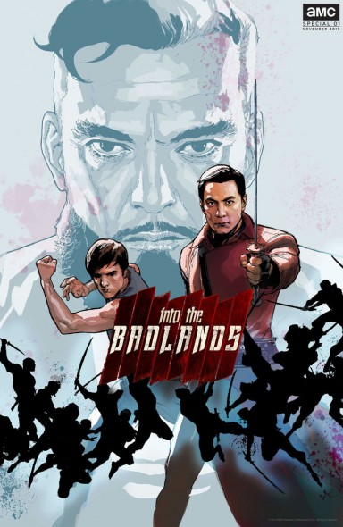 Into the Badlands TV show on AMC season one (canceled or renewed?); Into the Badlands season one comics