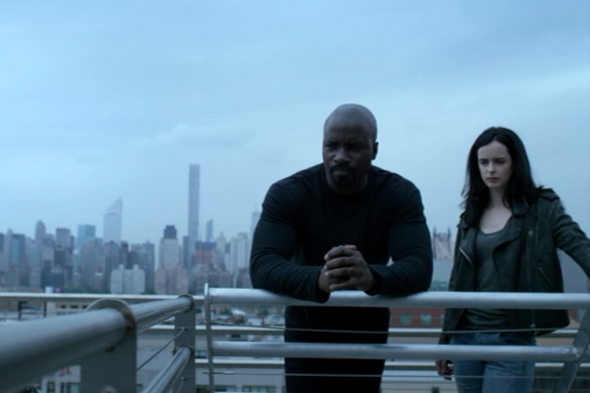 Marvel's Jessica Jones; Marvel's Luke Cage TV shows on Netflix