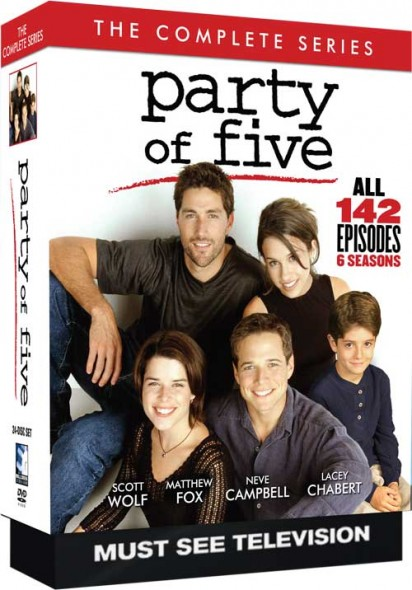 Party of Five TV show Complete Series on DVD