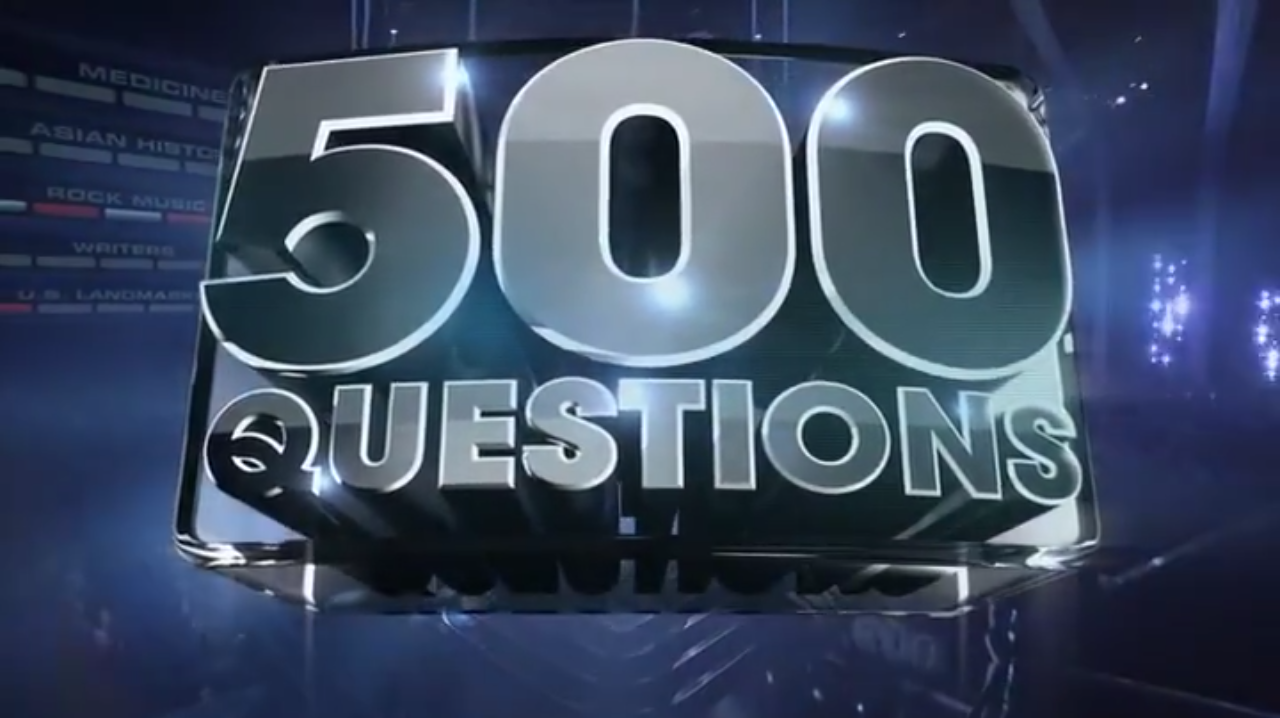 500 Questions Abc Tweaking Show For Season Two Canceled Tv Shows Series Finale