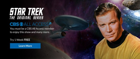 Star Trek franchise on CBS All Access