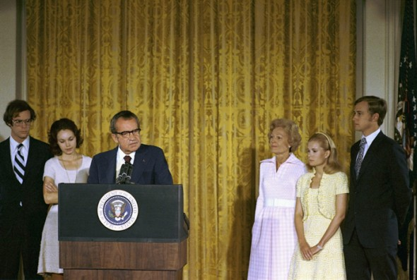 White House photo, courtesy Richard Nixon Presidential Library