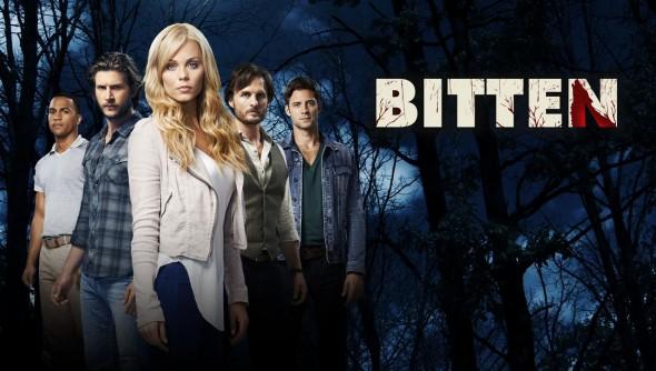 Bitten TV show on Syfy: season 3 canceled, no season 4.