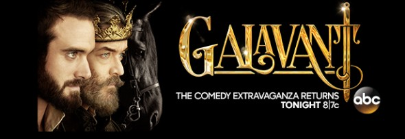 Galavant TV show on ABC: ratings (cancel or renew?)