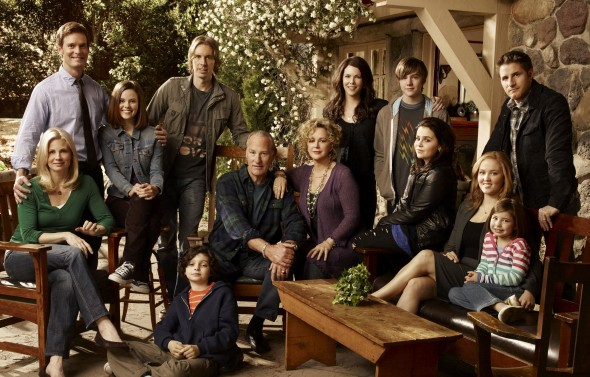 "The cast of ""Parenthood"" is shown, pictured: top row; Peter Krause as Adam Braverman, Sarah Ramos as Haddie Braverman, Dax Shepard as Crosby Braverman, Lauren Graham as Sarah Braverman, Miles Heizer as Drew Holt, Sam Jaeger as Joel Graham, bottom row; Monica Potter as Kristina Braverman, Max Burkholder as Max Braverman, Craig T. Nelson as Zeek Braverman, Bonnie Bedelia as Camille Braverman, Mae Whitman as Amber Holt, Erika Christensen as Julia Braverman-Graham, Savannah Rae as Sydney Graham. (Art Streiber/NBC/MCT)"