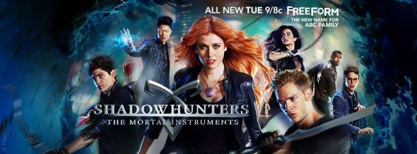 Shadowhunters TV show on Freeform : ratings (cancel or renew?)