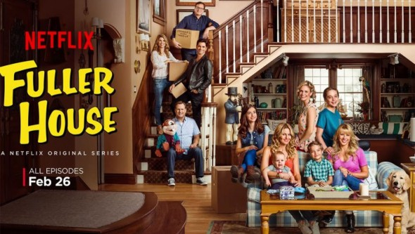 Fuller House TV show on Netflix season one