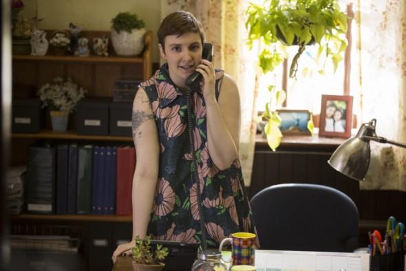 Girls TV show on HBO: season 5 premiere