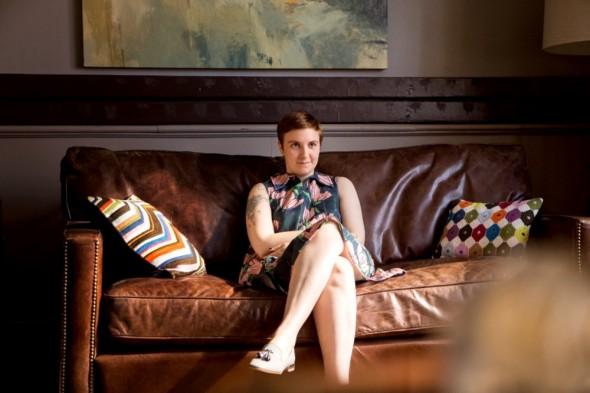 Lena Dunham (Credit: Craig Blankenhorn/HBO)