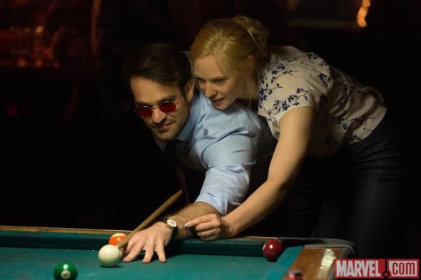 Marvel's Daredevil TV show on Netflix: season two (canceled or renewed?) Deborah Ann Woll, Charlie Cox