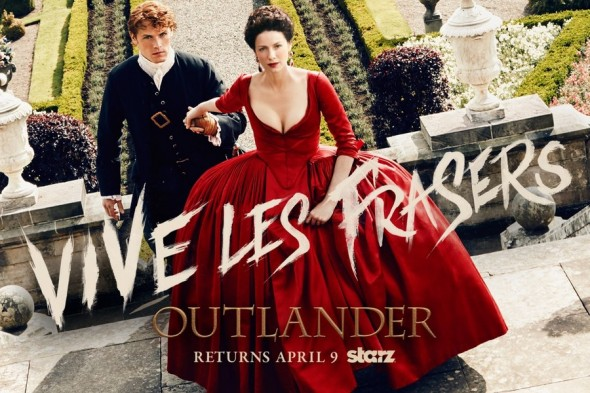 Outlander TV show on Starz: season two premiere