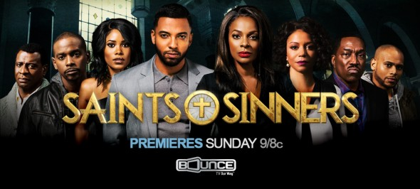 Saints & Sinners TV show on Bounce TV: season one premiere (canceled or renewed?)