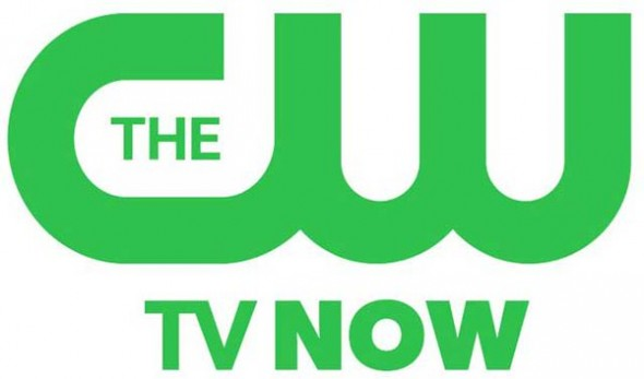 The CW logo TV Now