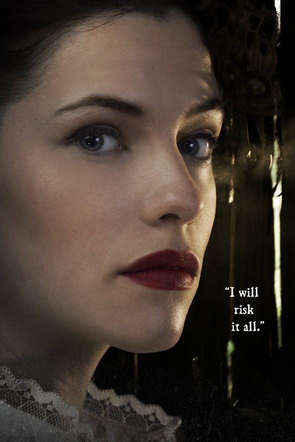 Jessica De Gouw as Elizabeth Hawkes