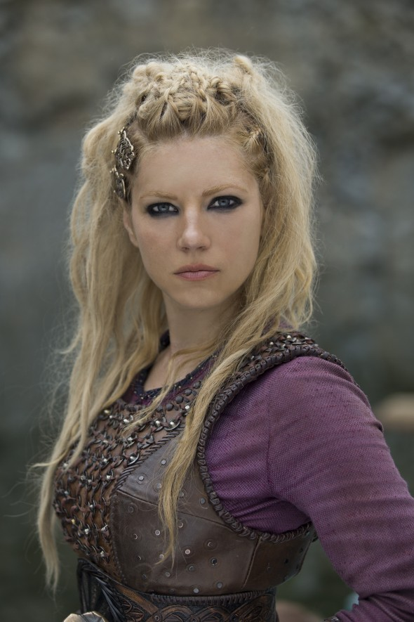 Lagertha, played by Katheryn Winnick Photo by Jonathan Hession/HISTORY Copyright 2016