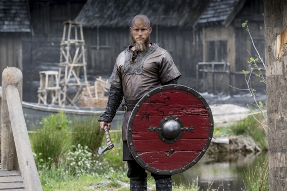 Vikings TV show on History: season 4 (canceled or renewed?) Travis Fimmel as King Ragnar