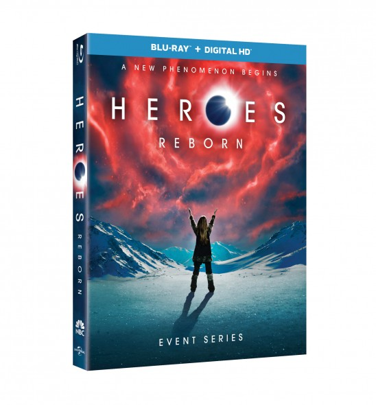 From Universal Pictures Home Entertainment: Heroes Reborn: Event Series (PRNewsFoto/Universal Pictures Home Ent.)