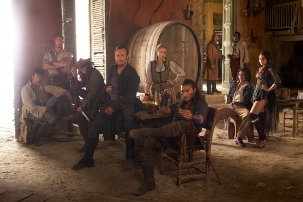 Black Sails TV show on Starz (canceled or renewed?)