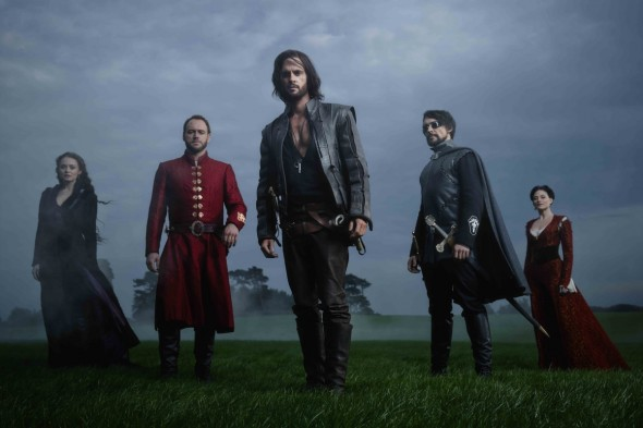 Da Vinci's Demons TV show on Starz (canceled, no season 4)