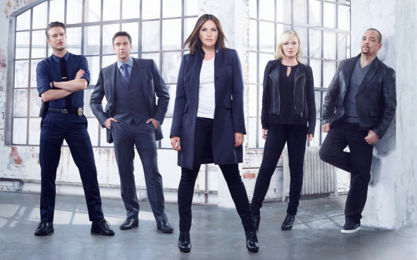 Law & Order: SVU TV show on NBC: season 18