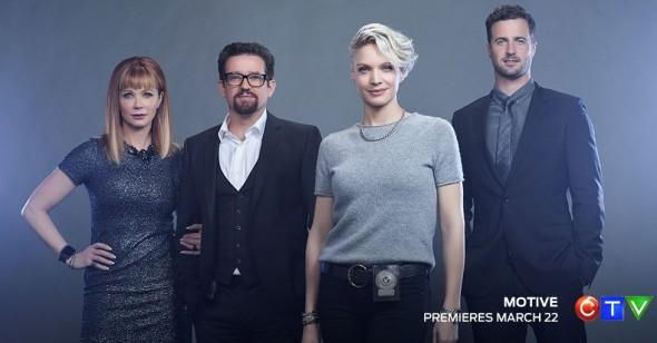 Motive TV show on CTV: canceled, no season 5