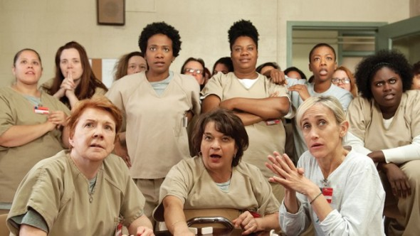 Orange Is the New Black TV show on Netflix:  seasons 5, 6, and 7 renewal