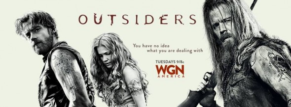Outsiders TV show on WGN America: ratings (cancel or renew?)