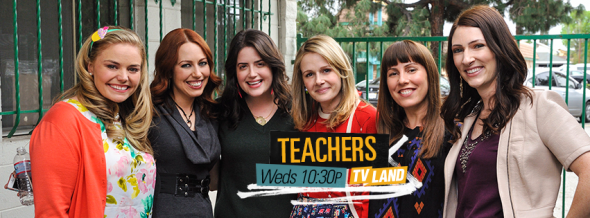 Teachers season one ratings canceled tv shows tv for Tv land tv shows