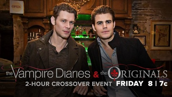 The Vampire Diaries, The Originals: CW Previews Crossover ...