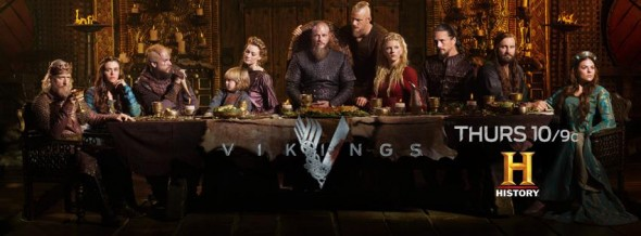 Vikings TV show on History: ratings (cancel or renew?)