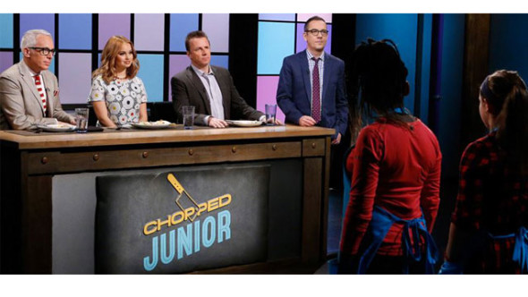 Chopped Junior TV show on Food Network: season 2 premiere (canceled or renewed?)
