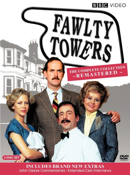 Fawlty Towers TV show on BBC (canceled or renewed?); Fawlty Towers TV show on PBS Hotel to be Demolished