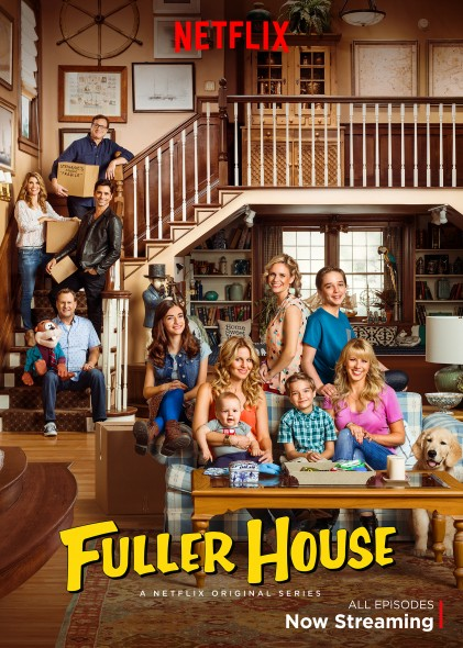Fuller House TV show on Netflix: season 2 renewal (Fuller House season two renewal)