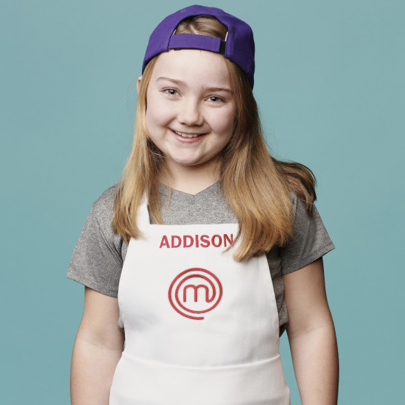 MASTERCHEF JUNIOR: Addison. Age: 9. Hometown: River Forest, IL.  CR: Greg Gayne / FOX. © 2015 FOX Broadcasting